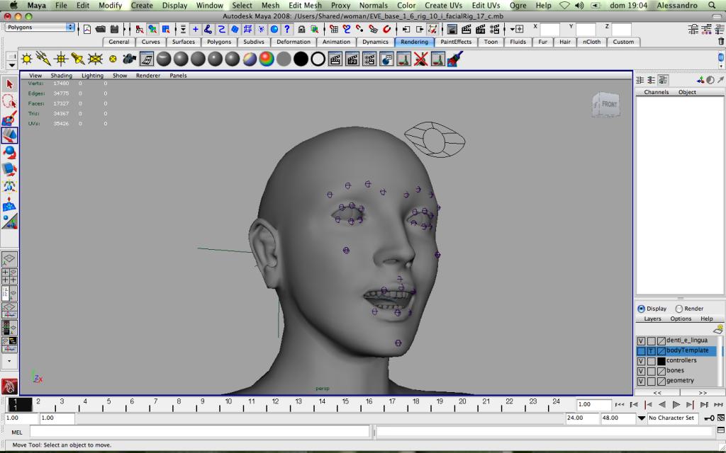 mWoman_facial_Expression_Pose_1